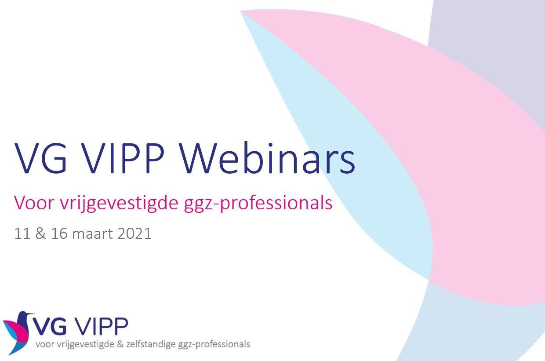 Kom alles te weten over de VG VIPP-regeling bij het webinar voor vrijgevestigde ggz-professionals